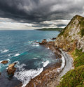 Coastal view, New Zealand Royalty Free Stock Photos