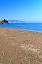 Coastal view from ordu turkey black sea coast in Stock Photo