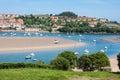 Coastal village in Cantabria Royalty Free Stock Photo