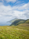 Coastline on Achill Island, Ireland Stock Photography