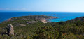 Coastline corsica of in france Royalty Free Stock Images