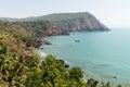 Coastline in Goa India Royalty Free Stock Photo