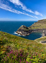 Coastline near Boscastle, Cornwall Royalty Free Stock Photo