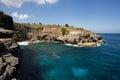 Coastline at Nusa Penida island Royalty Free Stock Photo
