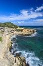 Coastline, Poipu Beach, Kauai Royalty Free Stock Photo