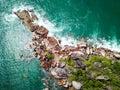 Coastline of Praslin