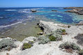 Coastline at rottnest island near perth in western australia Stock Image