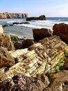 Coastline of Sagres Royalty Free Stock Image