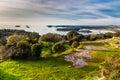 Coastline And Small Islands-Vrsar, Istria, Croatia Royalty Free Stock Photo