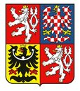 Coat of arms of the Czech Republic VECTOR Stock Photos