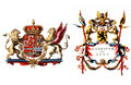 Coat of arms flag of Ghent Royalty Free Stock Photography