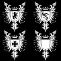 Coat of Arms Gothic 03 Stock Photos