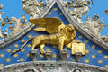 Coat of arms of Venice Stock Photography