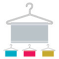Coat hanger icon Royalty Free Stock Photo