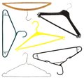Coat hangers Royalty Free Stock Photo