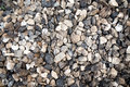 Cobble pattern rock background natural background from gray stone Stock Images