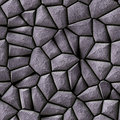 Cobble stone background illustrated seamless texture Royalty Free Stock Photo