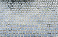 Cobble stone grey pattern as background Royalty Free Stock Images