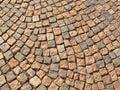 Cobble stone path Royalty Free Stock Photo