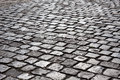 Cobble stone road Royalty Free Stock Photo