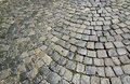 Cobble stone street close up Stock Photography