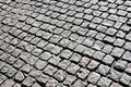 Cobble stone walk. Royalty Free Stock Photo