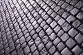 Cobble stones cobblestone background texture cobbled square in torun poland Royalty Free Stock Image