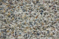 Cobble wall - dry dash Royalty Free Stock Photo