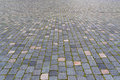 Cobbled pavement in dresden saxony germany Stock Images