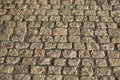 Cobbled Pavement Texture Royalty Free Stock Photo
