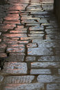Cobbled Road Royalty Free Stock Photo