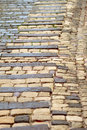 Cobbled road Stock Photo