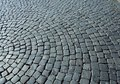 Cobbles in the square Stock Photos