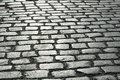 Cobbles on the street - Royalty Free Stock Photo