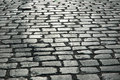 Cobbles on the street Stock Photography