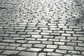 Cobbles on the street Royalty Free Stock Photography