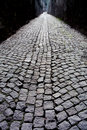 Cobblestone alley Stock Images