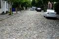 Cobblestone Alleyway Royalty Free Stock Photo