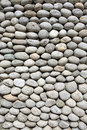 Cobblestone background image of grey at day Stock Photo