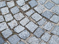 Cobblestone background texture ideal to use for websites backgrounds desktop backgrounds banners presentations and more Stock Photography