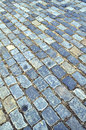 Cobblestone pavement Royalty Free Stock Photo