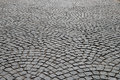 Cobblestone pavement abstract background of old Stock Photography