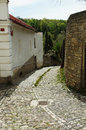 Cobblestone Road Royalty Free Stock Photos