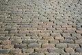 Cobblestone road closeup Royalty Free Stock Photo