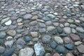cobblestone road Royalty Free Stock Photo