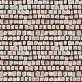 Cobblestone sidewalk Royalty Free Stock Photos
