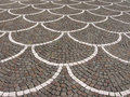 Cobblestones pavement Stock Photography