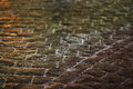 Cobblestones from the red square Stock Photography