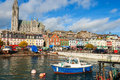Cobh co cork ireland the harbour at europe Stock Photography