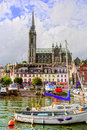 Cobh in Ireland Stock Photography